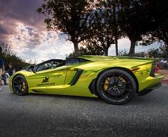 Wrapped Lamborghini Aventador (Winning Agent) Tags: car sunrise fast wrapped custom lamborghini supercar v12 lambo hypercar aventador lamborghiniaventador