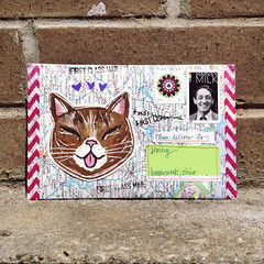 bub club giveaway (dear detective) Tags: cats illustration pen ink cat handmade drawing mixedmedia mailartist giveaway envelope button winner marker prize mailart bub snailmail penpal happymail doode prettymail lilbub catmail washitape illustratedcat showandmail snailmailrevolution showandsend bubclub
