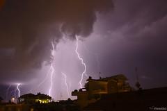Lightning 250714 Rimini (VincenzoGhezzi) Tags: sky storm rain weather night clouds canon thunderstorm lightning 1855mm thunder canon600d darktable