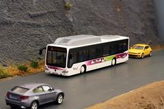 Flexy S09 - 1 (GelbenOmnibusse) Tags: bus mercedes busse 187 cng gnc autocarro modelismo herpa flexy citaro h0 evobus rietze