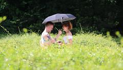 (KC photo spree) Tags: park people woman mist man peaceful lovers romantic greenery