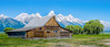 Mormon barn (tuninglever) Tags: summer colors barn landscape nikon mormon grandteton grandtetonnationalpark mormonbarn nikond800e