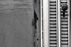 le parapluie carr (Narzouko) Tags: street abstract rain stairs umbrella canon square switzerland suisse streetphotography pluie lausanne l rue 70200 ch carr parapluie escaliers abstrait photoderue 70200f4lis canon5dmkii 5d2 nzk narzouko