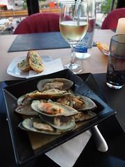 Mussels at Symposium restaurant, Platanias, Crete!