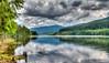 Cloudy day at Lake Vidra (mnielsen9000) Tags: lake cloudy reservoir romania mountainlake hdr lakevidra