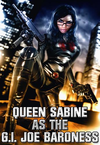 Queen Sabine As The G.I Joe Baroness