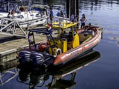 Canadian Coast Guard Rescue Boat (Tony Tomlin) Tags: boats sailing bc boating whiterock rcmp festivalofthesea rcmprescueboat