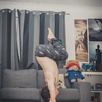 Feb 17 - Tuck Handstand