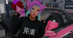 Uber Drift 6 Closeup (Ashley Densu) Tags: prostreet streetracing pkd prettykittydesigns erratic tsg thesugargarden tokyo japanise kawaii pink neko evermore vista bento catwa catya sweetthings cheshirecat goddess kittygoddess secondlife raw rawphotography furiousracing dub garage cars 3d 3dphotography 3dart
