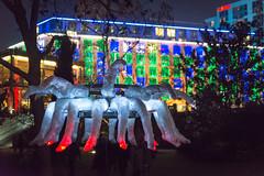 Frankfurt am Main - Luminale 2016, Nizza am Main (CocoChantre) Tags: bethmann deutschland europa frankfurtammain hessen lichtinstallation luminale nachtaufnahme nizza welt de