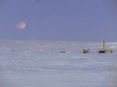 IMG_0849s (savillent) Tags: moon lunar penumbral earth shadow landscape sky snow ice arctic north climate photography canon point shoot camera tuktoyaktuk northwest territories canada astrology february 2017