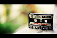 Audio cassette (Himanshu Joshi Bangalore) Tags: nikon colour colours colouring cassette vintage classic d610 indai india bangalore tape music