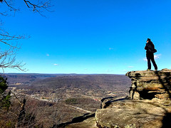Taking pictures @ Point Park (#KPbIM) Tags: winter travel trip 2016 december vacation point park tennessee chattanooga dima