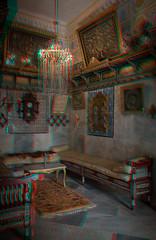 Dar Essid, Sousse (Pascale Jaquet & Olivier Noaillon) Tags: intérieur anaglyphe maison anaglyph décoration sousse gouvernoratdesousse tunisie tn