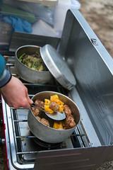 Dinner (Tielma) Tags: california camping climbing dinner loversleap rockclimbing tradclimbing usa