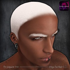 [ new release - omega hairbase v.1 ] ([ sithas ]) Tags: secondlife sithasslade sl thesanguinetree omegaapplier omega applier hairbase buzzcut buzz tintable tinting tint shave shaved meshhead head