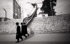 Mea Shearim (Valentine Kleyner) Tags: meashearim leica voigtlander heliar orwo fomadon israel jerusalem bw film