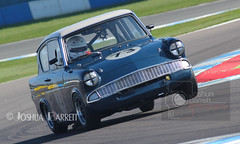 Robyn Slater - Ford Anglia (Historic Touring Cars) (joshbarrett94) Tags: hscc doningtonpark saloons historicsaloons historics historicmotorsport classics classiccar