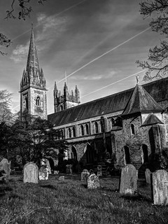 Llandaff Cathedral - Cemetery View