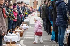 Húsvétvasárnapi ételszentelés Csíkszereda főterén (Búzás Botond Photography) Tags: húsvétvasárnapi ételszentelés csíkszereda főterén food blessing easter foods tradition continues many churches transylvania romania