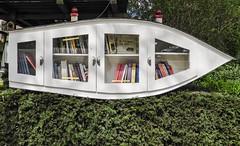 Free Books. (Hans Veuger) Tags: nederland thenetherlands amsterdam amsterdamnoord noorderkroon meeuwenlaan bibliotheek library nikon b700 coolpix nederlandvandaag bookexchange
