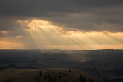 Rays (Jarod Carruthers) Tags: 500px nature sun clouds rays ray hills rural scenic lookout island new zealand central nz north