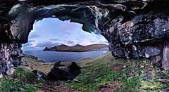 Overhang (Jan Egil Kristiansen) Tags: instagramapp pano201704162108525 streetview overhang heller eiði faroeislands i500 interestingness392 landscape seascape horizon