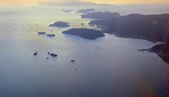 Landing in POS (oobwoodman) Tags: trinidad trinidadandtobago portofspain caribbean aerial aerien luftaufnahme luftphoto luftbild venezuela chaguaramas chacachacare huevos monos miapos