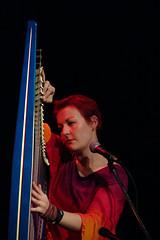 Corinna Hewat (Bachué) – Celtic Links – 10/14/03 (photo: Murdock Smith)