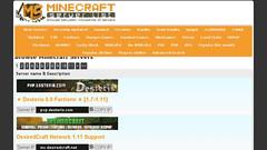 Minecraft Ip Server (minecraftserverslistnet) Tags: minecraft servers server list multiplayer game free online top vote