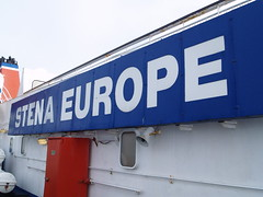 Ship's Name (divnic) Tags: stenaline stena ferry boat ship sea irishsea uk wales fishguard pembrokeshire southwestwales fishguardandgoodwick goodwick sign signs warningsign imo7901760 7901760 roropassengerferry roro passengerferry stenaeurope msstenaeurope fender funnel smokestack smoke davit davits crewman officer shipsofficer crew shipscrew lifeboat