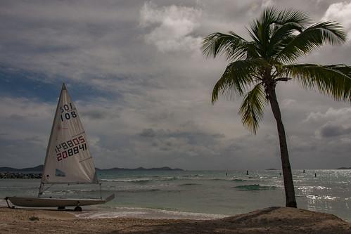 Stereotypical Caribbean Scene - Tortola,  BVI