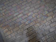 IMG_20170413_135142-01 (The Man-Machine) Tags: nexus5x edited snapseed spill ground lookingdown pattern gray