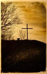 Good Friday (Dave Linscheid) Tags: jesuschrist savior sacrifec death eternallife christianity easter cross faith religion texture textured butterfield watonwancounty mn minnesota usa