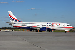 N430XA - Boeing 737-484 - Xtra Airways - KATL - Mar 2017 (peachair) Tags: n430xa boeing 737484 xtra airways katl mar 2017 cn 25430 2174 737400 atlanta hartsfield jackson