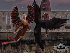 Prey_003 (Danity Mynx) Tags: prey secondlife secondlifefashion secondlifemodel secondlifeevents swank danitymynx angelusbunin wings angels
