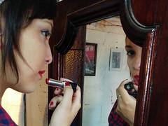 (Walter Daniel Fuhrmann) Tags: mujer girl jacqueline lg g5 celular cell phone color reflejo reflection espejo mirror