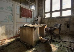 office (Captured Entropy) Tags: lostplace urbex office decay abandoned derelict mold