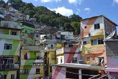 Favela Santa Marta Tour (CSCT3) Tags: favela rio santamaria neighborhood riodejaneiro art life colors infamous