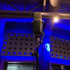 Step Up To The Mic (Pennan_Brae) Tags: recordingsession mic recordingstudio singing vocals sing musicstudio recording microphone