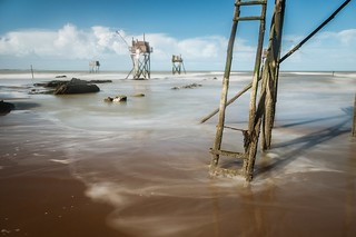 Entre carrelets et marées