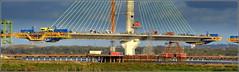 Mersey Gateway Project (Northern Pylon Road Deck) 1st April 2017 (Cassini2008) Tags: merseygatewayproject rubricaengineeringformtravellers cablestayedroadbridge bridgeconstruction rivermersey runcorn widnes engineering bridge staycables