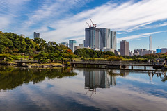 IMG_2501 (Evgeny Gorodetskiy) Tags: sunshine autumn garden landscape building travel cityscape outdoor weekend city park skyscrapper himarikiyu japan tokyo minatoku tōkyōto япония jp
