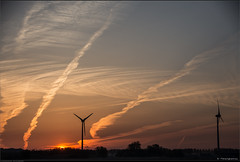 Sky patterns (Peterbijkerk.eu Photography) Tags: zonsopkomst fog frost mist nachtvorst peterbijkerkeu sunrise heiloo noordholland nederland nl