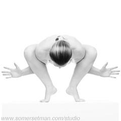 Somersetman3065-3M (somersetman) Tags: modelnikki studio yoga plinth shapes monochrome impliednude jazzhands