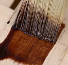 "Macro Mondays ""Glaze"" (Max pics3) Tags: makro macro macromondays nahaufnahme closeshot closeup canon canoneos6d eos6d eos glaze pinsel lasur pinselstrich glasur paintbrush timber strokeofthebrush holz schärfentiefe"