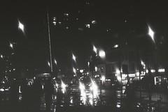 Whitechapel High Street (goodfella2459) Tags: nikon f4 af nikkor 50mm f14d lens kodak trix 400 35mm blackandwhite film log analog whitechapel high street east end london jacktheripper bwfp milf city streets night