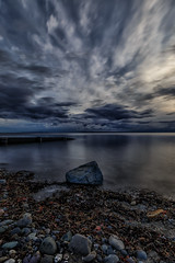 Crescent Beach- long exposure (gks18) Tags: crescentbeach canon longexposure beach surrey britishcolumbia water lightroom nik