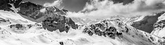 Alps (Steed171) Tags: alps snow mountains bw skiing lesarcs paradiski alpine france snowscene landscape majestic sublime canon eos700d bnw