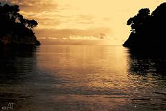 Sunset Mallorca (at2907) Tags: beach strand sea meer panorama espana espanol spain mallorca galdana sonnenuntergang sunset küste ozean sand